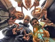 """""""Солнечные зайчики"""" Алина КАТОК, учащаяся 8 класса Реченской средней школы."""