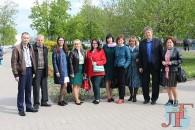 Актив Любанской районной организации Белорусского профсоюза работников государственных и других учреждений